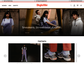 stylefile.de screenshot