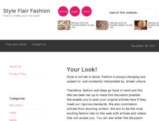 styleflair.com screenshot
