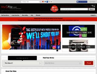styleflip.com screenshot