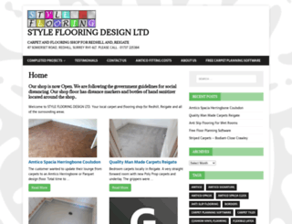 styleflooring.com screenshot