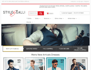 stylegalli.com screenshot