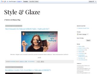 styleglaze.blogspot.tw screenshot