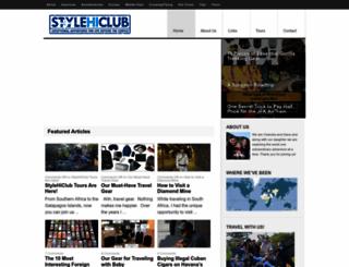 stylehiclub.com screenshot