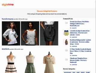 stylehive.com screenshot