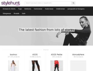 stylehunt.com.au screenshot