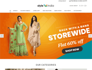 styleindia.com.au screenshot