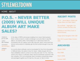stylemeltdown.com screenshot