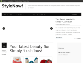 stylenowme.blog.com screenshot