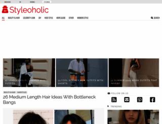 styleoholic.com screenshot