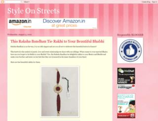 styleonstreets.blogspot.in screenshot