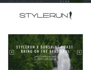 stylerun.com screenshot