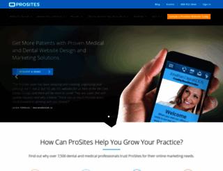 styles.prosites.com screenshot