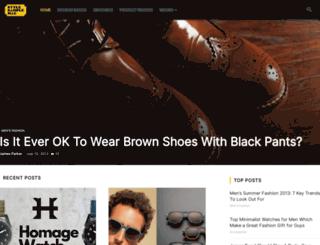stylesamplemag.com screenshot