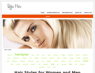 styleshairs.com screenshot