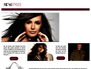 stylesnew.com screenshot