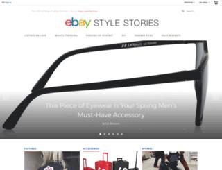 stylestories.ebay.com screenshot