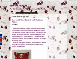 styleuplife.blogspot.com screenshot