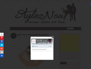 styleznow.com screenshot