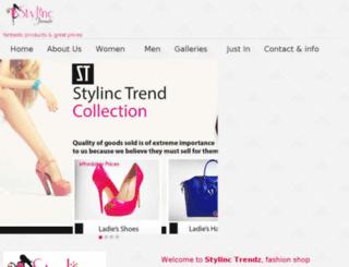 stylinctrendz.com screenshot
