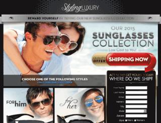 stylingluxury.com screenshot