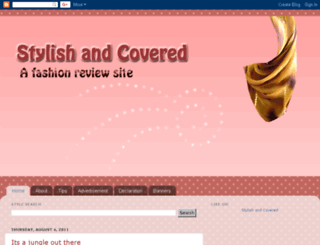 stylishandcovered.blogspot.com screenshot