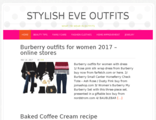 stylisheveoutfits.com screenshot