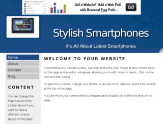 stylishsmartphones.bravesites.com screenshot
