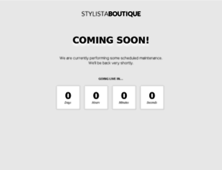stylistaboutique.co.uk screenshot