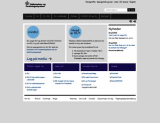 su.dk screenshot