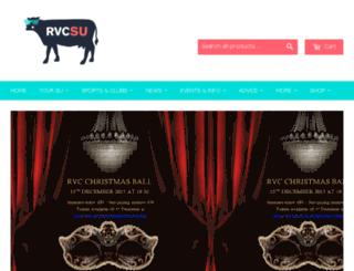 su.rvc.ac.uk screenshot