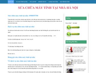 suachuamaytinhvn-hn.blogspot.com screenshot