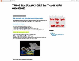 suaelectroluxthanhxuan.blogspot.com screenshot