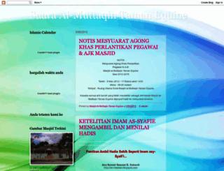 suaraalmuttaqin.blogspot.com screenshot