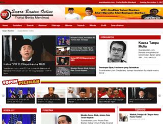 suarabanten.com screenshot