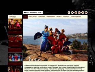 suaraindonesiadance.com.au screenshot
