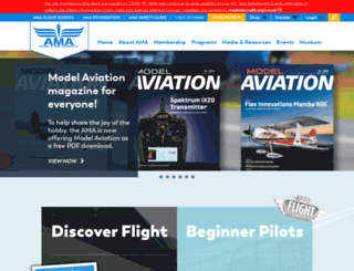 suas.modelaircraft.org screenshot