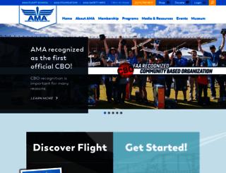 suas.modelaircraft.org screenshot