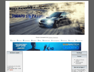 subaru-sti-passion.lightbb.com screenshot