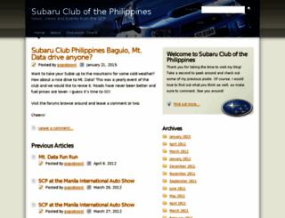 subaruclub.ph screenshot