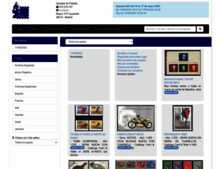 subastadefilatelia.com screenshot