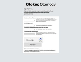 sube.otokoc.com.tr screenshot
