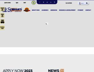 subharti.org screenshot