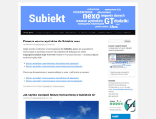 subiektgt.dbsoft.pl screenshot