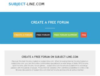 subject-line.com screenshot