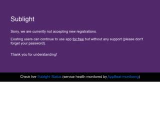 sublight.me screenshot