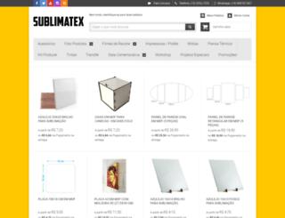 sublimatex.com.br screenshot