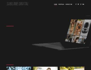 sublime-digital.com screenshot