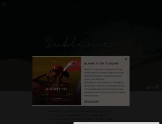 sublimecomporta.pt screenshot