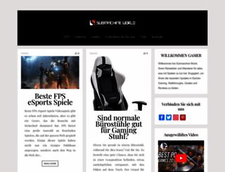 submachineworld.com screenshot