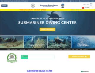 submariner-diving.com screenshot